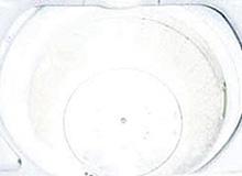 洗濯漕内面写真全自動洗濯機10年使用