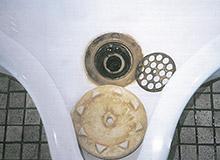 最終調査(平成9年2月4日)(ホースで水を流しながらの清掃後の写真)